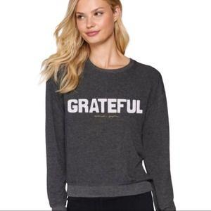 NWT SPIRITUAL GANGSTER grateful sweatshirt L grey